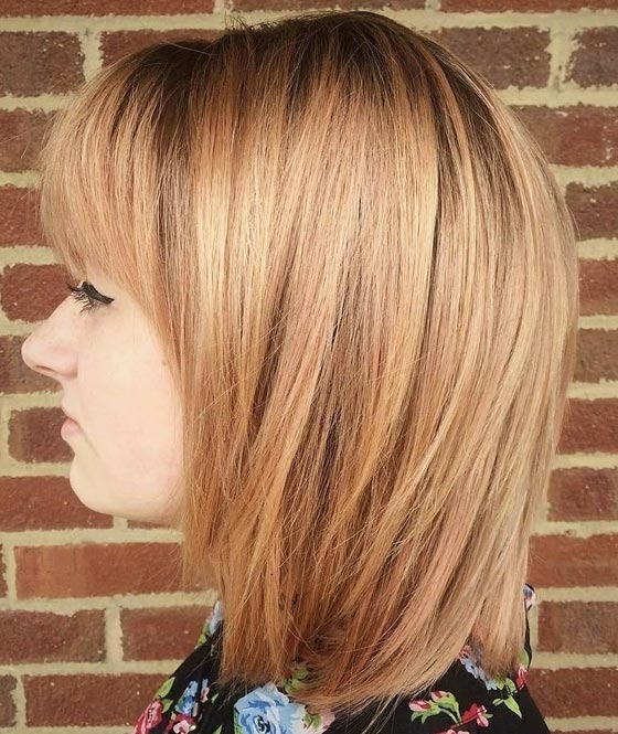 30 Strawberry Blonde Hair Color Ideas With Regard To Multi Tonal Golden Bob Blonde Hairstyles (View 9 of 25)