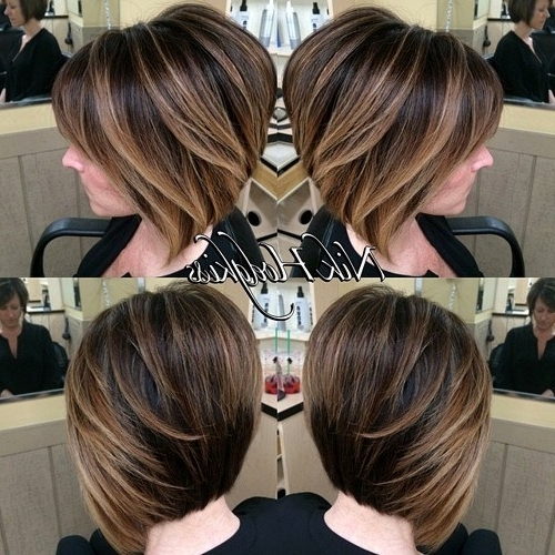 30 Stunning Balayage Short Hairstyles 2018 – Hot Hair Color Ideas Throughout Most Recently Balayage Pixie Hairstyles With Tiered Layers (View 12 of 25)