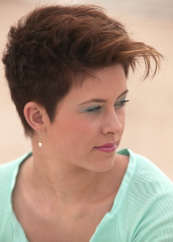 30 Stylish Tapered Short Hairstyles To Look Bold And Elegant Within 2018 Messy Tapered Pixie Hairstyles (View 19 of 25)