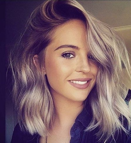 30 Super Short Hairstyles For 2017 In 2018 | Gorgeous Hair Pertaining To Blunt Cut White Gold Lob Blonde Hairstyles (View 17 of 25)