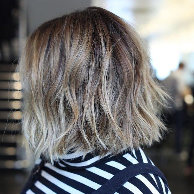 30 Trendiest Shaggy Bob Haircuts Of The Season | Pinterest | Shaggy With Shaggy Highlighted Blonde Bob Hairstyles (View 12 of 25)