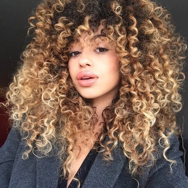 30 Trendy And Beautiful Long Blonde Hairstyles Regarding Warm Blonde Curls Blonde Hairstyles (View 10 of 25)