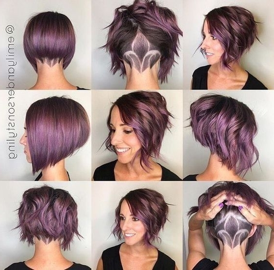 30 Trendy Stacked Hairstyles For Short Hair – Practicality Short With Current Stacked Pixie Hairstyles With V Cut Nape (View 2 of 25)