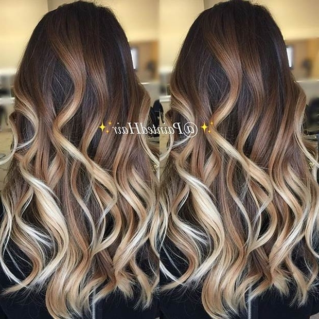 31 Balayage Highlight Ideas To Copy Now | Page 3 Of 3 | Stayglam Throughout Beige Balayage For Light Brown Hair (View 7 of 25)