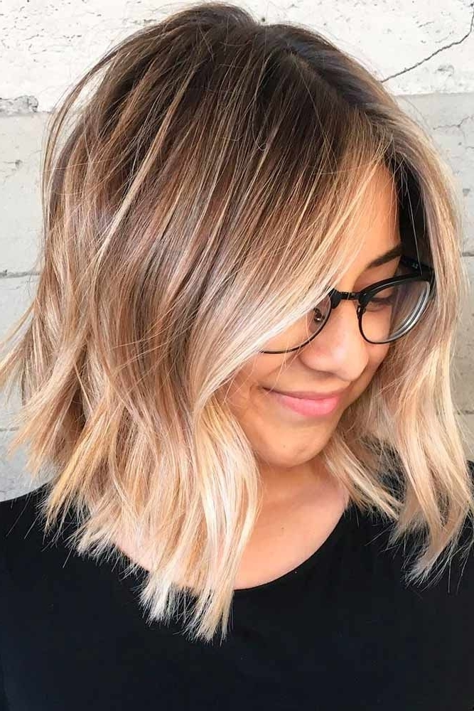 31 Blonde Ombre Hair Colors To Try In 2018 | Hair That I Love Pertaining To Ombre Ed Blonde Lob Hairstyles (View 5 of 25)