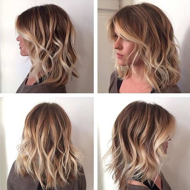31 Gorgeous Long Bob Hairstyles   Page 3 Of 3   Stayglam For Messy Blonde Lob Hairstyles (View 7 of 25)