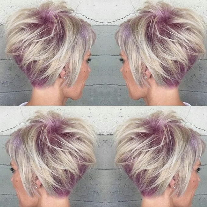 31 Hair Color Ideas For Short Hair 2016 – 2017 | On Haircuts With Regard To Most Current Reverse Gray Ombre Pixie Hairstyles For Short Hair (View 17 of 25)