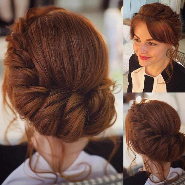 31 Most Beautiful Updos For Prom | Page 2 Of 3 | Stayglam Regarding Romantic Twisted Hairdo Hairstyles (View 13 of 25)