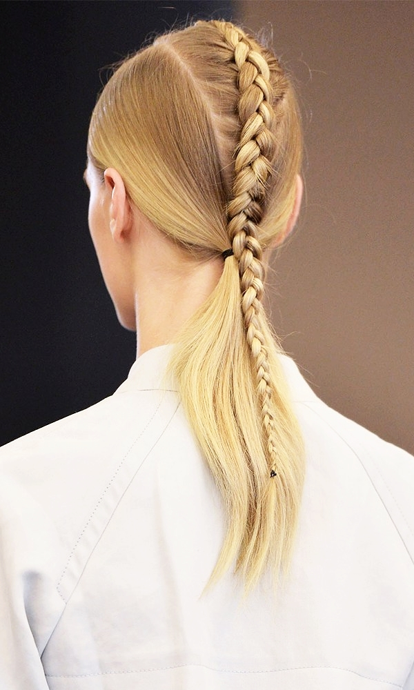 31 Of The Best Hairstyles To Try This March | Pinterest | Braid Intended For Futuristic And Flirty Ponytail Hairstyles (View 20 of 25)
