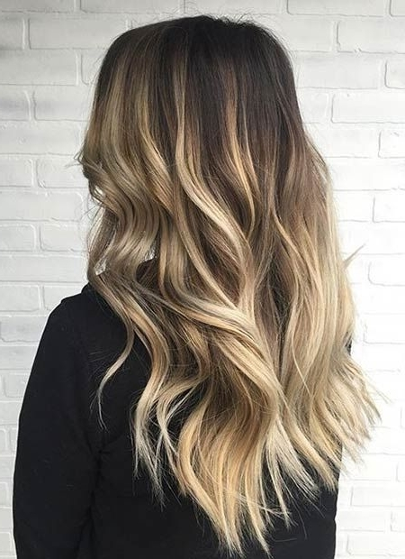 31 Stunning Blonde Balayage Looks | Stayglam Hairstyles | Pinterest Regarding Dirty Blonde Balayage Babylights Hairstyles (View 3 of 25)