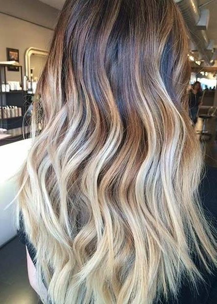 31 Stunning Blonde Balayage Looks | Stayglam Intended For Grown Out Balayage Blonde Hairstyles (View 3 of 25)