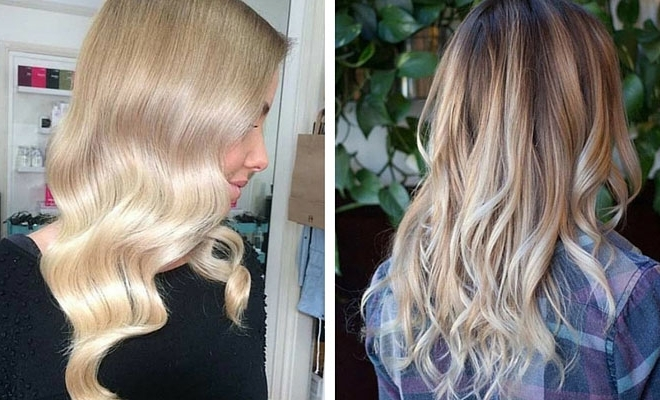 31 Stunning Blonde Balayage Looks | Stayglam Within Icy Highlights And Loose Curls Blonde Hairstyles (View 16 of 25)