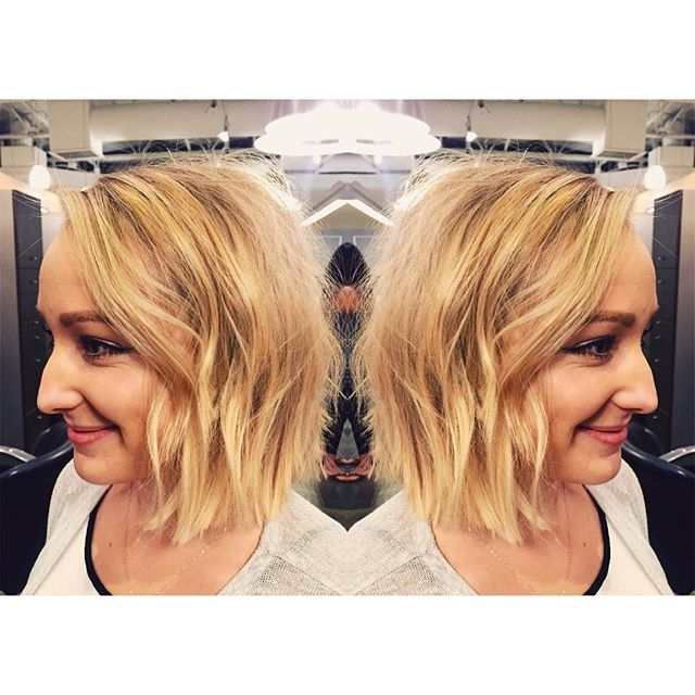 32 Hottest Bob Haircuts & Hairstyles You Shouldn't Miss – Bob For Blunt Cut White Gold Lob Blonde Hairstyles (View 10 of 25)