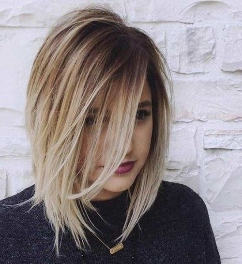 33 Best Balayage Hairstyles For Straight Hair For 2018 In Newest Shaggy Pixie Hairstyles With Balayage Highlights (View 21 of 25)