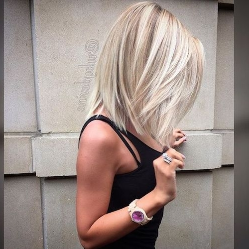 33 Best Balayage Hairstyles For Straight Hair For 2018 Inside Silver Blonde Straight Hairstyles (View 7 of 25)