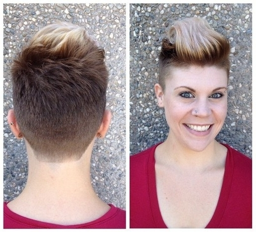 33 Cool Short Pixie Haircuts For 2018 – Pretty Designs For Most Popular Two Tone Pixie Hairstyles (View 5 of 25)