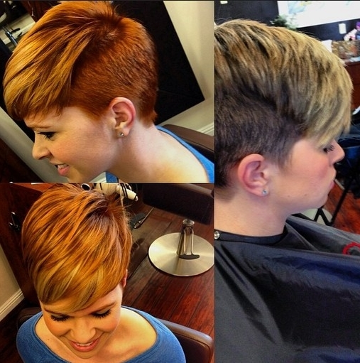33 Cool Short Pixie Haircuts For 2018 – Pretty Designs In Most Popular Two Tone Pixie Hairstyles (View 19 of 25)