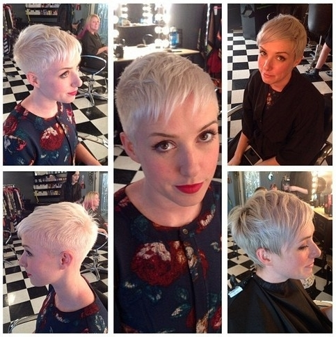 33 Cool Short Pixie Haircuts For 2018 – Pretty Designs Inside Most Recently Pixie Bob Hairstyles With Temple Undercut (View 25 of 25)