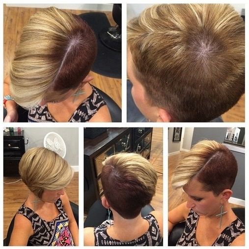 33 Cool Short Pixie Haircuts For 2018 – Pretty Designs Within Recent Two Tone Pixie Hairstyles (View 7 of 25)