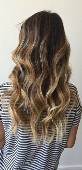 33 Hottest Beach Waves For This Summer | Fashion – Beauty Pertaining To Bronde Beach Waves Blonde Hairstyles (View 11 of 25)