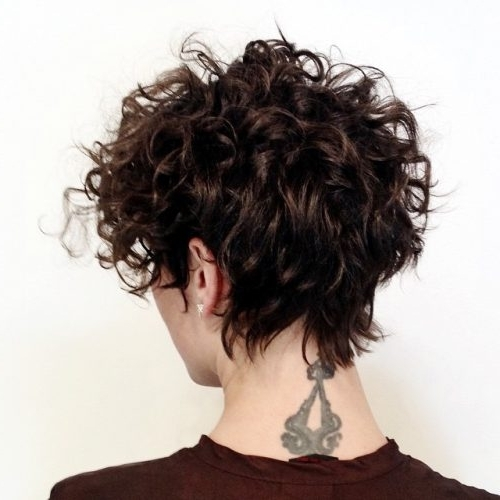 33 Hottest Short Curly Hairstyles Trending In 2018 Inside Most Recent Long Curly Pixie Hairstyles (View 7 of 25)