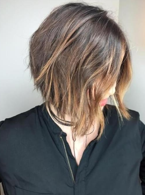 33 Of The Best Balayage Hair Color Ideas For 2018 With Regard To Current Feathered Pixie With Balayage Highlights (View 11 of 25)