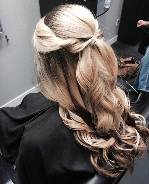 34 Easy Homecoming Hairstyles For 2018 Short,medium & Long With Intricate Updo Ponytail Hairstyles For Highlighted Hair (View 16 of 25)