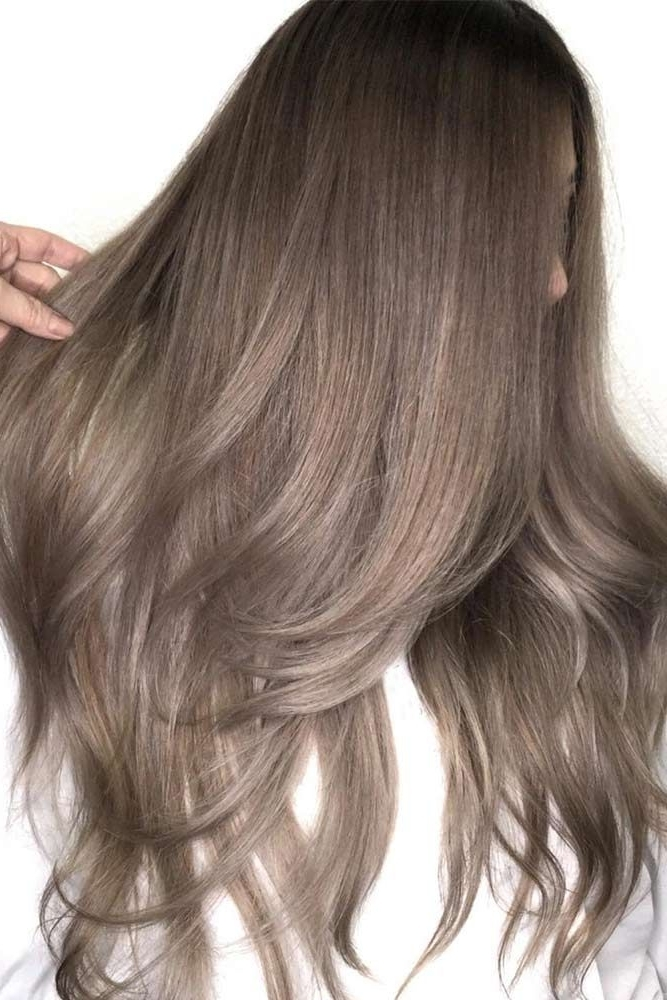 34 Sassy Looks With Ash Brown Hair | Blonde & Beautiful | Pinterest Intended For Light Ash Locks Blonde Hairstyles (View 4 of 25)