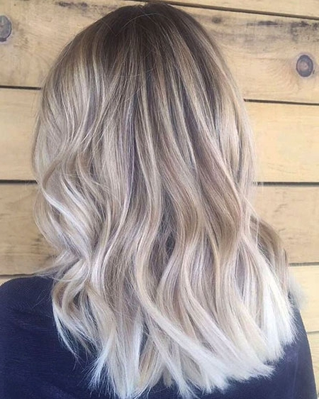 35+ Best Medium Blonde Balayage Hair – Blonde Hairstyles 2017 Throughout Medium Blonde Balayage Hairstyles (View 7 of 25)