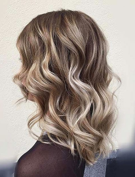 35 Best Medium Blonde Lob Hairstyles – Blonde Hairstyles 2017 Throughout Caramel Blonde Lob With Bangs (View 10 of 25)