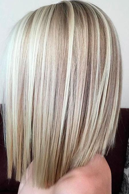 35 Best Medium Blonde Lob Hairstyles – Blonde Hairstyles 2017 Within Wavy Caramel Blonde Lob Hairstyles (View 22 of 25)