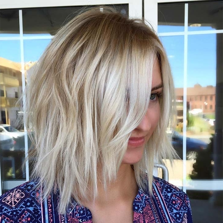35 Best Medium Length Hairstyles For Thin Hair   Hairs (View 6 of 25)