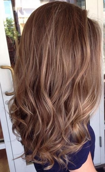 35 Light Brown Hair Color Ideas 2017 In 2018 | L O C K S | Pinterest In Layered Bright And Beautiful Locks Blonde Hairstyles (View 17 of 25)