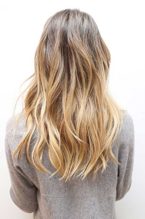 35 Long Layered Cuts | Hairstyles & Haircuts 2016 – 2017 Regarding Brown And Dark Blonde Layers Hairstyles (View 22 of 25)