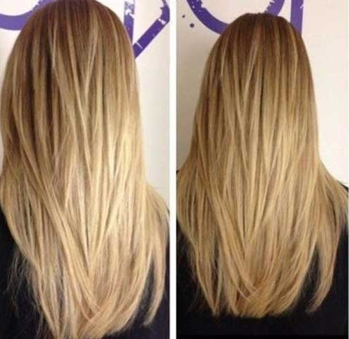 35 Long Layered Cuts | Hairstyles & Haircuts 2016 – 2017 Throughout Brown Blonde Layers Hairstyles (View 9 of 25)