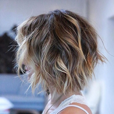 35+ New Balayage Short Hair – Short Hairstyles 2018 In Best And Newest Balayage Pixie Hairstyles With Tiered Layers (View 16 of 25)