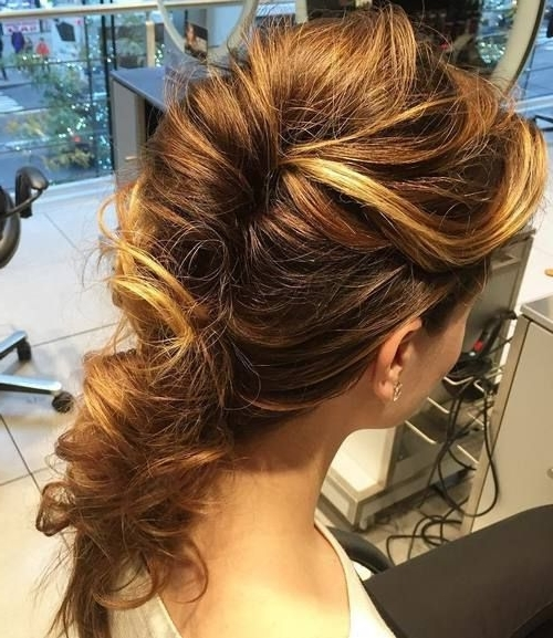 Featured Photo of Twisted And Tousled Ponytail Hairstyles