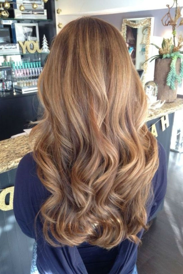 36 Blonde Balayage Hair Color Ideas With Caramel, Honey, Copper Inside Caramel Blonde Hairstyles (View 9 of 25)