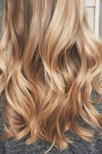 36 Blonde Balayage With Caramel, Honey, Copper Highlights If I Regarding Medium Honey Hued Blonde Hairstyles (View 4 of 25)