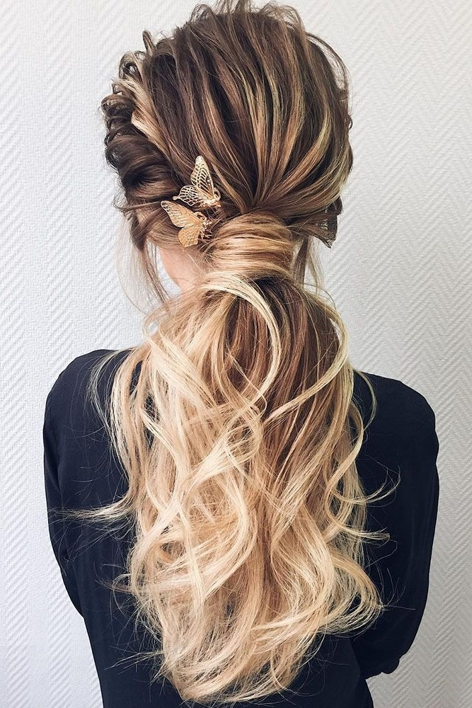 36 Chic And Easy Wedding Guest Hairstyles | Hair & Nails | Pinterest Throughout Chic Ponytail Hairstyles With Added Volume (View 9 of 25)