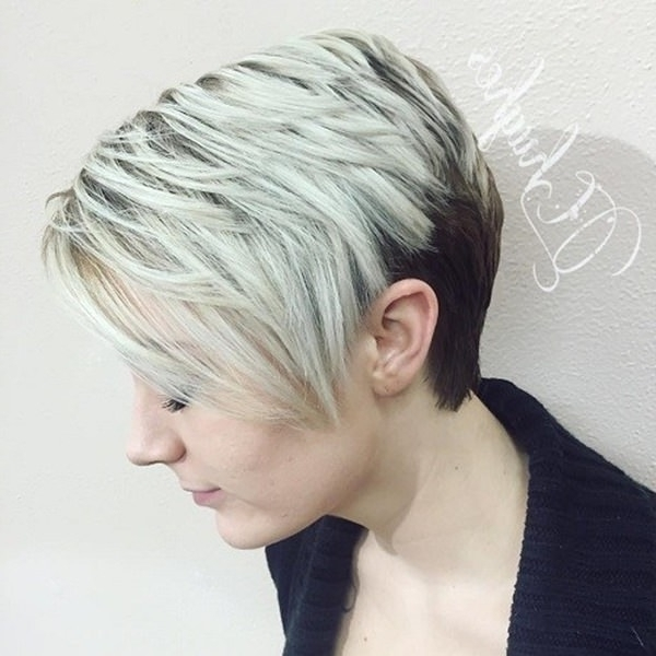 36 Extraordinary Wedge Hairstyles For Your Next Amazing Style Within Most Current Pixie Wedge Hairstyles (View 5 of 25)