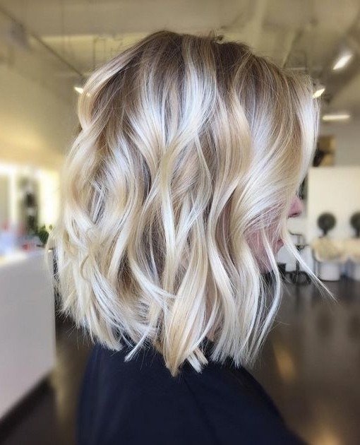 36 Hottest Bob Hairstyles 2017 – Amazing Bob Haircuts For Everyone Intended For Curly Highlighted Blonde Bob Hairstyles (View 2 of 25)