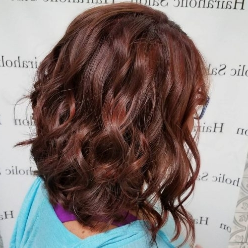 37 Best Red Highlights In 2018 For Brown, Blonde & Black Hair Within Maple Bronde Hairstyles With Highlights (View 20 of 25)
