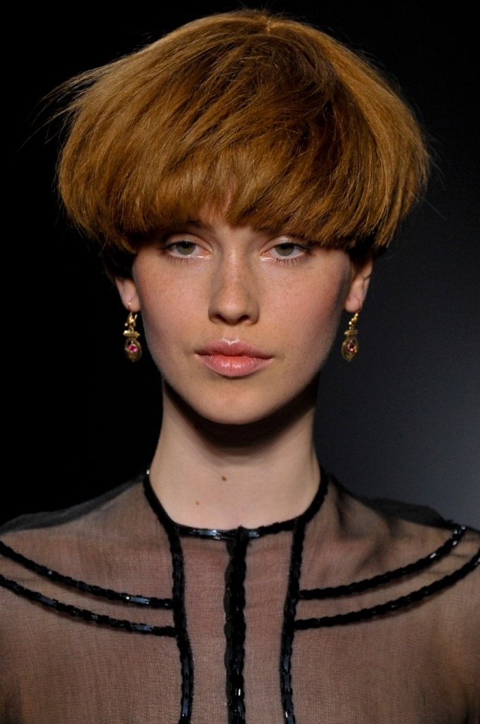 37 Trendy Short Hairstyles For Women [August, 2018] With Regard To Most Popular Choppy Bowl Cut Pixie Hairstyles (View 25 of 25)