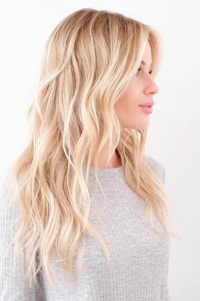 38 Flirty Blonde Hair Colors To Try In 2018 | Hair | Pinterest Intended For Fresh And Flirty Layered Blonde Hairstyles (View 4 of 25)