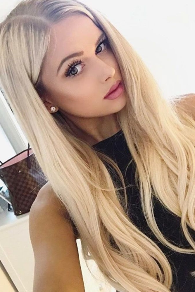 38 Flirty Blonde Hair Colors To Try In 2018 | Hair | Pinterest Within Fresh And Flirty Layered Blonde Hairstyles (View 15 of 25)