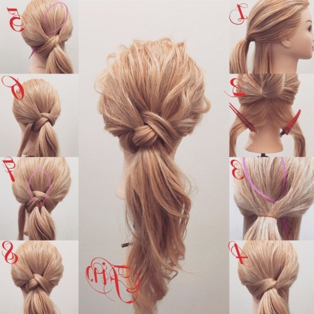 38 Glam Ponytail Tutorials | Hair | Pinterest | Elegant Ponytail With Glam Ponytail Hairstyles (View 4 of 25)