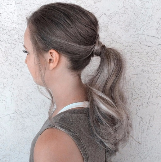 38 Glam Ponytail Tutorials – Page 2 Of 4 – The Goddess For Glam Ponytail Hairstyles (View 7 of 25)