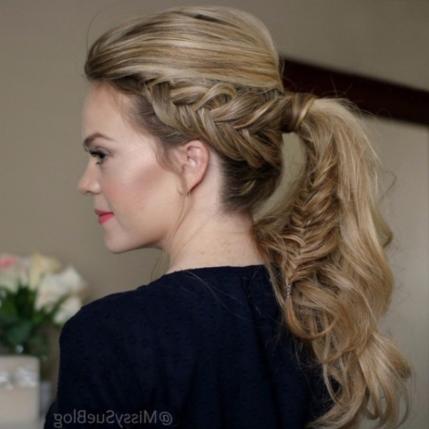 38 Glam Ponytail Tutorials – Page 3 Of 4 – The Goddess For Glam Ponytail Hairstyles (View 10 of 25)