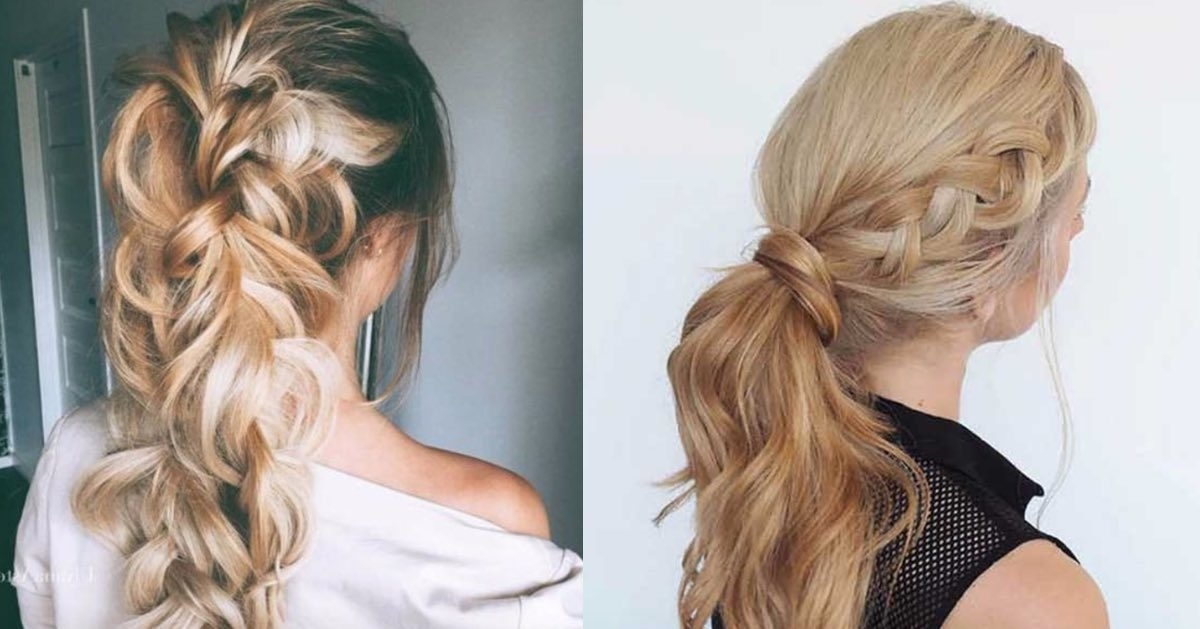 Featured Photo of Glam Ponytail Hairstyles